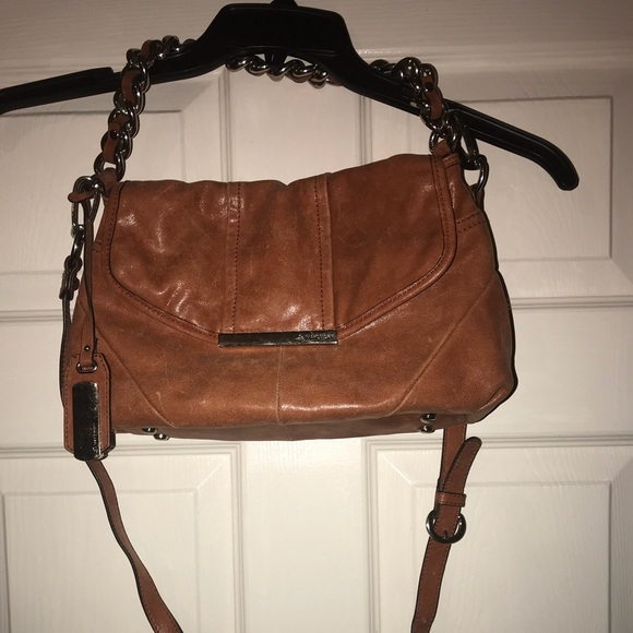 b. makowsky Bags   B Makowsky Brown Leather Handbag Medium   Poshmark f52b0b2925